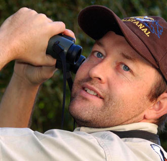 Michael Mills, Birding Africa guide Somaliland and Djibouti birding tour