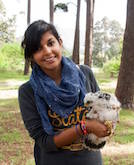 Jessleena Suri, Social Media Manager for Birding Africa and Cape Town Pelagics